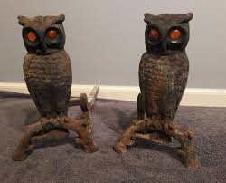 antiques gifts antique cast iron owl