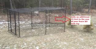 Fence Kit With Top 6 Rear Extension All Metal