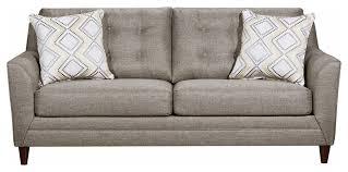 jensen gray sofa transitional sofas