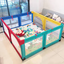 New Playpen Indoor Baby Crawling Mat Fence Mesh Fence Ocean Ball Pit Pool Game Shopee Philippines