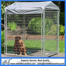 China Mesh Fencing For Dogs 10x10x6 Galvanized Outdoor Dog Kennel China Iron Cages And Metal Pet Cage Price