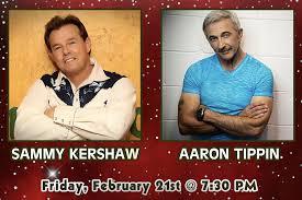 Sammy Kershaw & Aaron Tippin – Cedartown Performing Arts Center