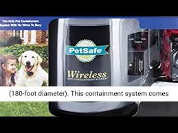 Petsafe Pif 300 Wireless 2 Dog Fence Containment System Youtube