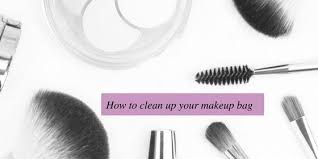 clean up your makeup bag this fall