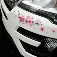 Pink Floral Car And Truck Decals And Stickers For Sale Ebay