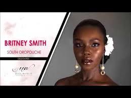 Britney Smith - Miss Trinidad and Tobago 2018 Finalist (Miss World) -  YouTube