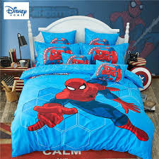 3d spider man bedding set for kids