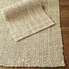 herringbone woven jute fiber rug