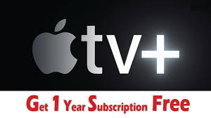 Get Apple TV Plus Subscription Free | How To Get Apple TV Plus Subscription  free for 1 year in hindi - YouTube
