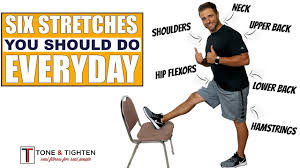 6 stretches you should do everyday to