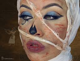 mummy makeup tutorial