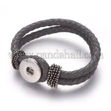 whole leather snap bracelet making