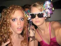 Taylor and her best friend from high school Abigail Anderson ...