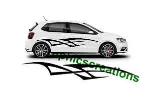 Tribal Car Decal Sticker Street Racing Decal Large Tribal Car Etsy Car Decals Stickers Car Decals Car