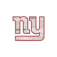 Adventure Furniture Nfl Indoor New York Giants Distressed Logo Cutout Wood Signs N0843 Nyg The Home Depot