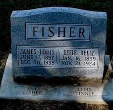 Effie Belle Harrison Fisher (1859-1924) - Find A Grave Memorial