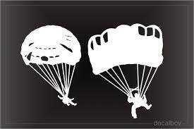 Skydiving Decals Stickers Decalboy