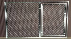 Portable Chain Link Fence Panel With Gate Chain Link Fence Panels Chain Link Fence Fence Panels