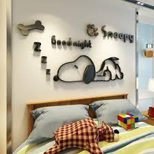 5 Cartoon Puppy Dog 3d Wall Sticker Children S Room Living Room Bedroom Bedside Wall Decoration In Wall Stickers From Home Garden New Year Decor Wall