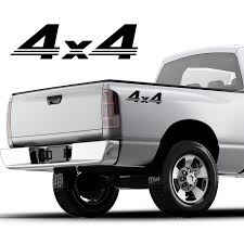 For 2pcs 4x4 Graphics Decal Sticker Chevy Silverado 1500 2500 3500 Chevrolet Car Stickers Aliexpress