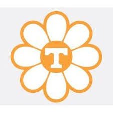 University Of Tennessee Volunteers Power T Flower Vinyl Decal Car Truck Ut Sticker Tennessee Tennessee Volunteers University Of Tennessee