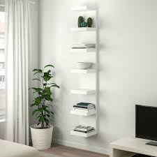 white ikea lack shelving wall unit with