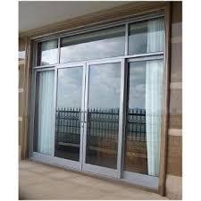 aluminum glass garage door sliding