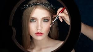 apply blush makeup tutorial