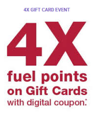 4x fuel points at fry s load coupon