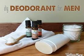 men s deodorant natural options that