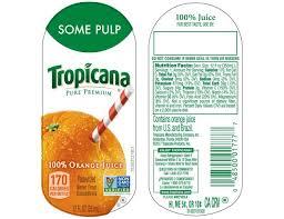 tropicana pure premium homestyle orange