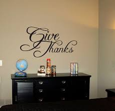 Give Thanks Beautiful Wall Decals