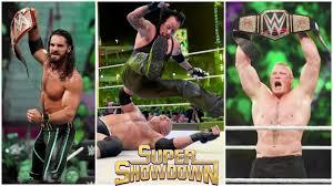 WWE Super Showdown 7 June 2019 Highlights ! WWE Super Showdown 06 ...
