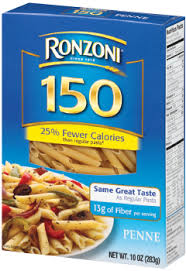 ronzoni 150 calories penne the