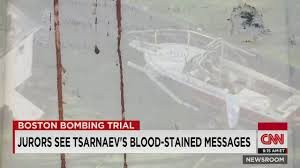 boat with suspected Boston bomber ...