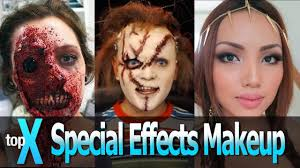 top 10 you special effects makeup