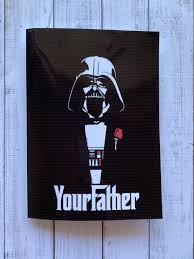Tarjeta Darth Vader Your Father Space Store Chile