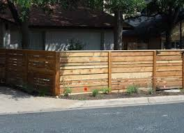 4ft Tall Horizontal Cedar Wood Fence And Gate Around Front Yard Cedar Wood Fence Wood Fence Front Yard Fence