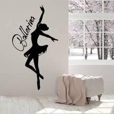 Hot Price 0ceab Modern Design Ballet Dance Wall Sticker Ballerina Wall Decal Art Murals Home Decor Living Room Decoration Girls Bedroom Decals Cicig Co