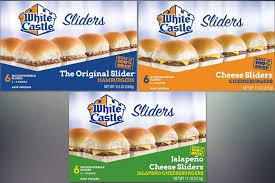 white castle frozen burgers recalled