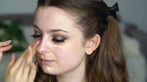 prom makeup silver smokey you