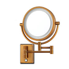 wall mounted lighted mirror led