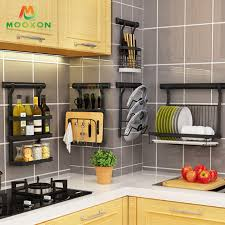 plate drainer kitchen wall mounted rack