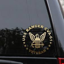 Navy Wife In American Flag Decal For Car Window Truck Naasongs Co