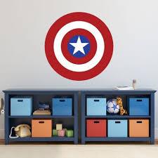 Captain America Shield Vinyl Wall Vinyl Decor Wall Decal Customvinyldecor Com
