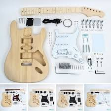 fender stratocaster style guitar kit