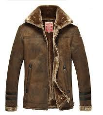 mens leather jackets fur coat men