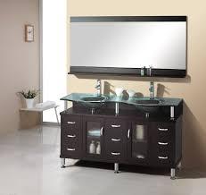 espresso double sink bathroom vanity