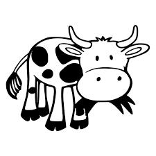 20 14 8cm Cartoon Cow Creative Farm Animal Car Sticker Vinyl Waterproof Car Styling Decal Shop The Nation