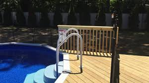 Pool Guard Of Long Island Semi Inground Pool Youtube